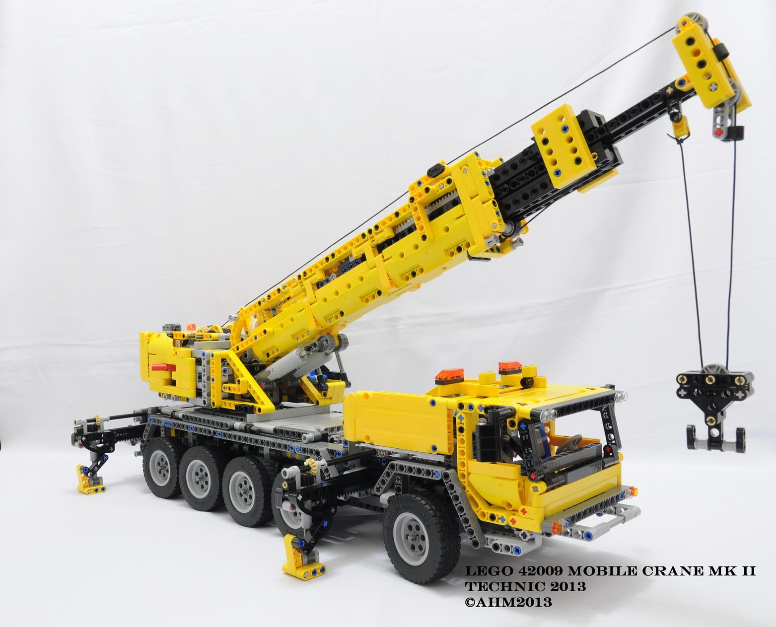 top lego technic 42009 mobile crane wallpapers. Black Bedroom Furniture Sets. Home Design Ideas