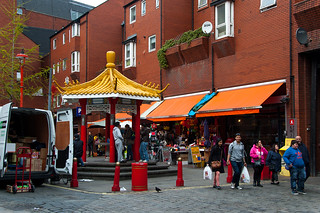 Newport Place in London Chinatown