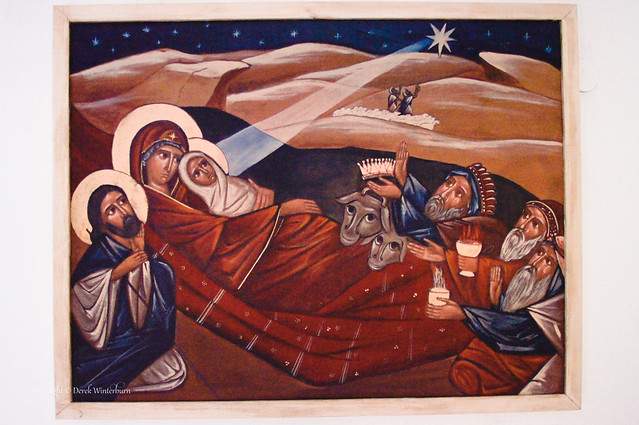 Adoration of Magi Icon