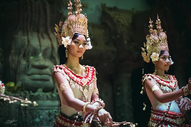 Apsara Dancers by Erwin JK
