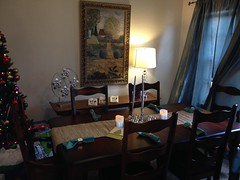 Elves In Disguise 2013: A new dining room