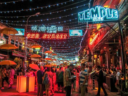 Pub Street, Siem Reap