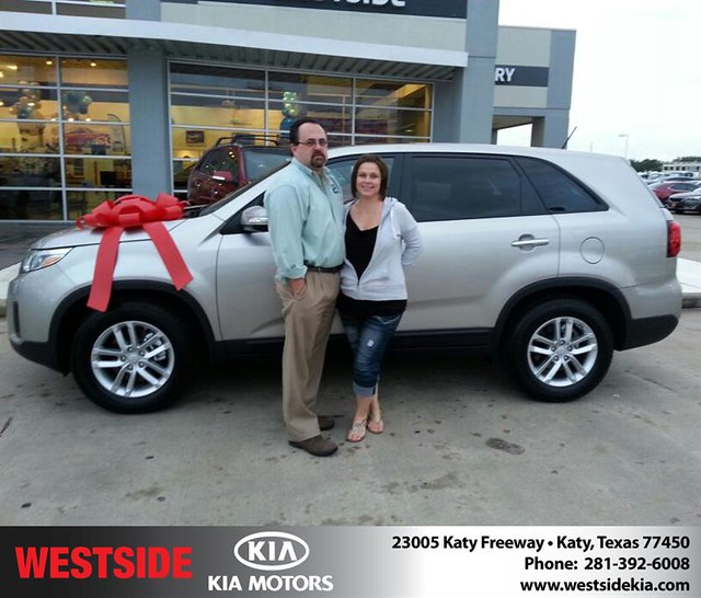 thank you to richard branford on your new 2014 kia sorento from william hadnott and everyone. Black Bedroom Furniture Sets. Home Design Ideas
