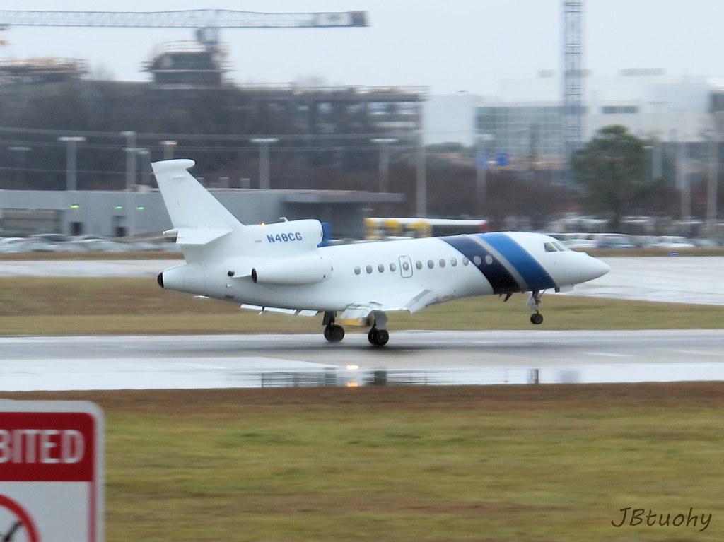 N48CG - F900 - Nordwind Airlines
