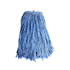 Layflat Blue Blend Mop Head - Blue - 16oz SMOPLF26116