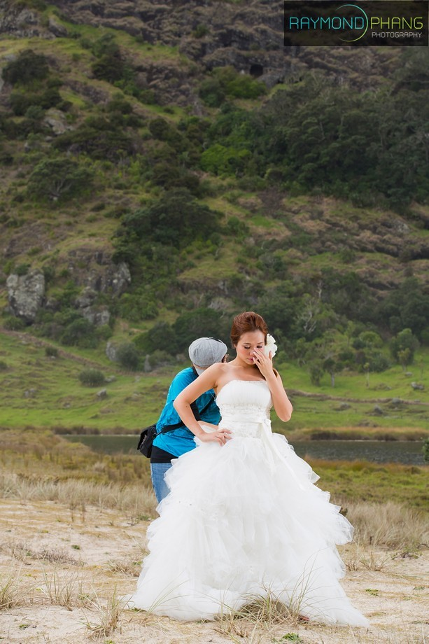Conceptualised Pre-Wedding Behind the Scene in New Zealand - 19