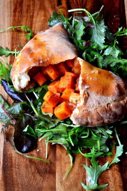 Sweet Potato and Mozzarella Calzone Recipe (4)