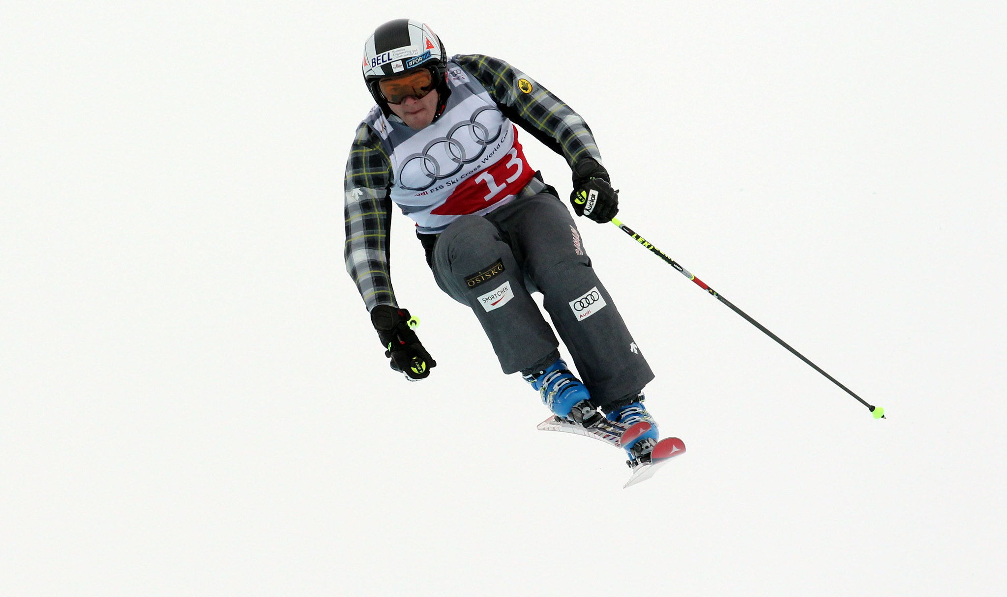 Tristan Tafel in action in Val Thorens, France