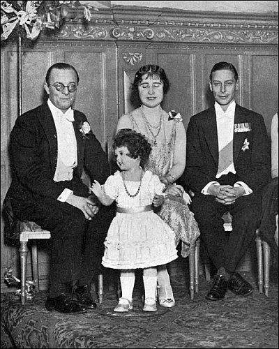 L Henson with Duke and Duchess of York