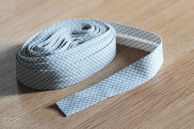 organic cotton bias tape