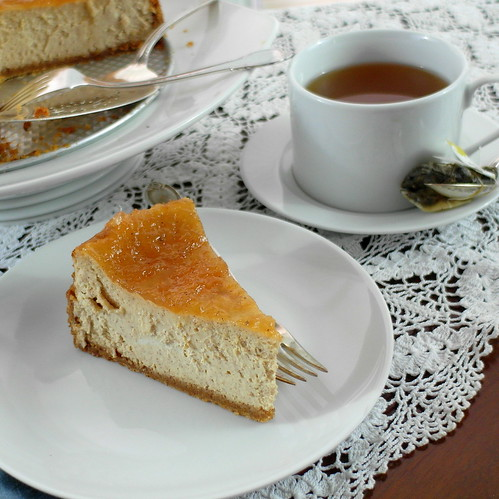 Cinnamon Buttermilk Cheesecake