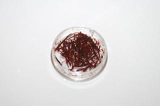 09 - Zutat Safran / Ingredient saffron