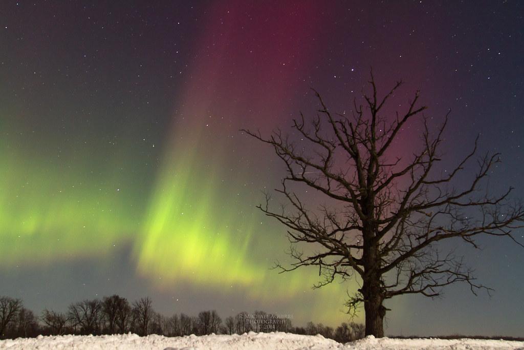 Aurora Spirits In The Sky