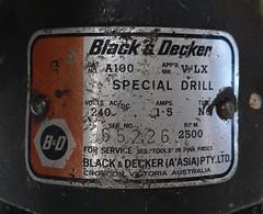 Black & Decker Special Drill Cat A100 (2)