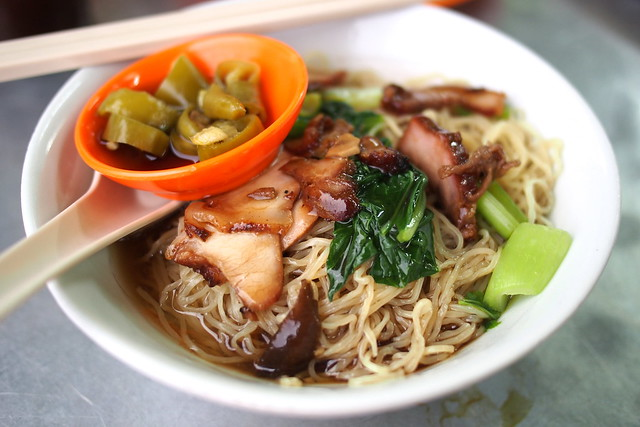 wanton noodles, Georgetown, Penang, Malaysia