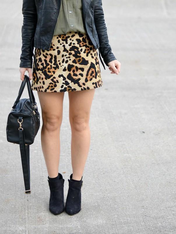 Leopard Print Topshop Skirt 5