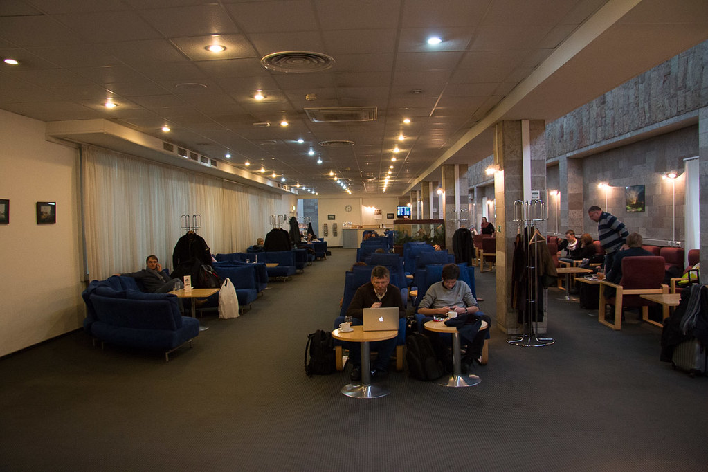Business Class Lounge Pulkovo Airport