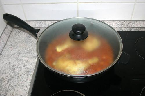 29 - Hähnchenschenkel geschlossen schmoren / Stew chicken legs closed