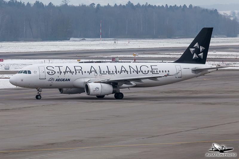 SX-DVQ / Aegean Airlines / Airbus A320-232