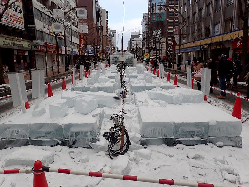 さっぽろ雪まつり すすきの会場