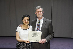 Roopsi Narayan received 1st place in poster competition