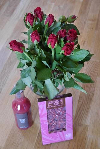 Zum Valentinstag: Rote Rosen