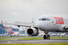 TAM Airlines Airbus A319