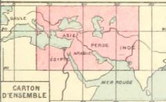 Image taken from page 29 of 'Géographie historique. Leçons en regard des cartes. Résumant l'histoire de la formation territoriale des pays civilisés et l'histoire de la civilisation, etc'