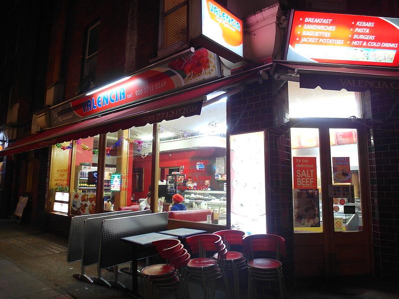 17度C遊倫敦-推薦國王十字周邊美食。Valencia。瓦倫西亞咖啡廳。 (5)