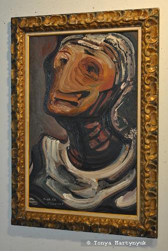 15. David Alfaro Siqueiros. Cabeza de Anciana, 1968