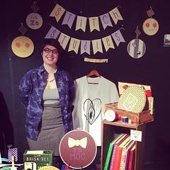 Selling her goodies, not your goodies @stitchstudies @quicheshopcomics