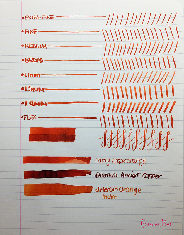 Ink Shot Review Lamy Copperorange @Fontoplum0 @appelboomlaren (1)