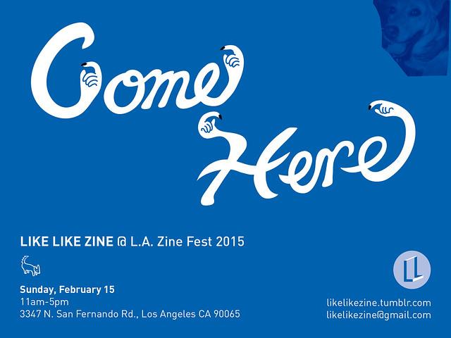 Like Like Zine @ LA Zine Fest