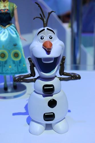 Frozen toys at Toy Fair 2014