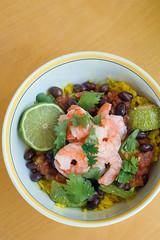 Shrimp Burrito Bowl.
