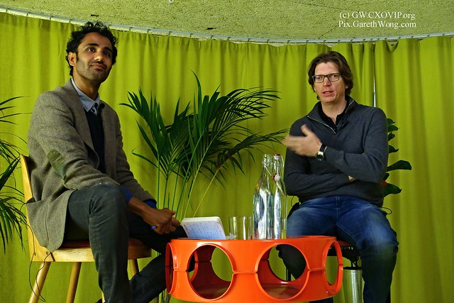 Niklas Zennstrom, founder of Skype, Atomico, Joost, and Kazaa chat with Rohan Silva, founder of SecondHome from RAW _DSC0165