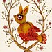 A Rabbit Bird. I need to come up with a better name. #oneuponaillustration