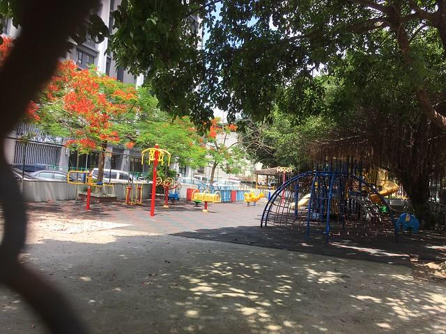 山北社區對面的小公園
