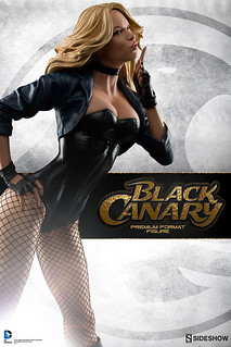 Sideshow Collectibles【黑金絲雀】Black Canary 1/4 比例 全身雕像