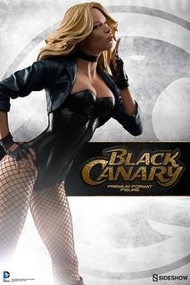 Sideshow Collectibles【黑金絲雀】Black Canary 1/4 比例 全身雕像