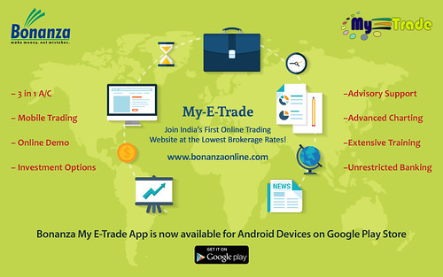 Bonanza My E Trade - Demat Account - Lowest Brokerage