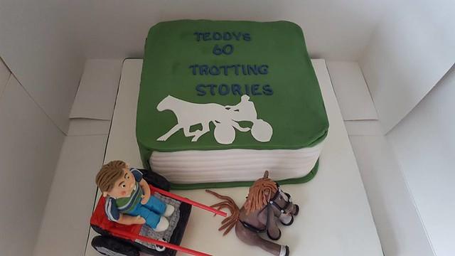 Cake by Catherine Rogan of Kittykatdesigns