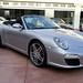 2009 Porsche 911 Carrera S (997) Cabriolet GT Silver on Black in Beverly Hills @porscheconnect 1226