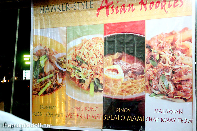 Hawker-Style Asian Noodles at Mezza Norte