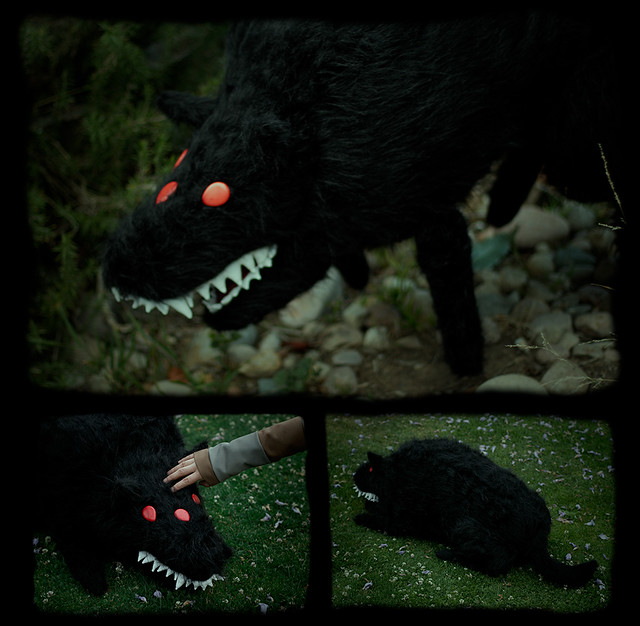 stuffed stuff: Wolfmother ver. 1 from Sword & Sworcery
