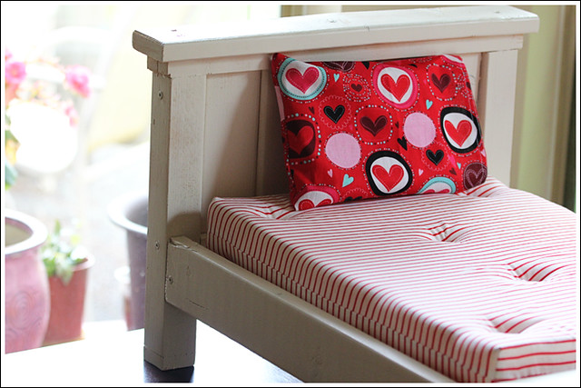 Farmhouse Doll Bed 3