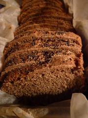 Pan de centeno y harina integral