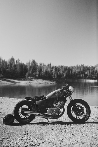 bike at the lake by Garrett Meyers