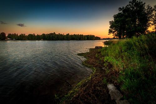sunrise mississippiriver riversidepark carletonplace