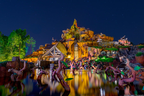 Reflections of Splash Mountain